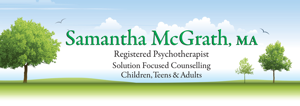 Samantha McGrath: Solution Focused Counselling - Home